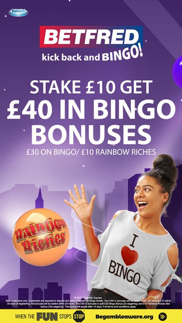 Bingo Free Bet